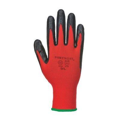 Guante Flexo Grip Rojo/Negro