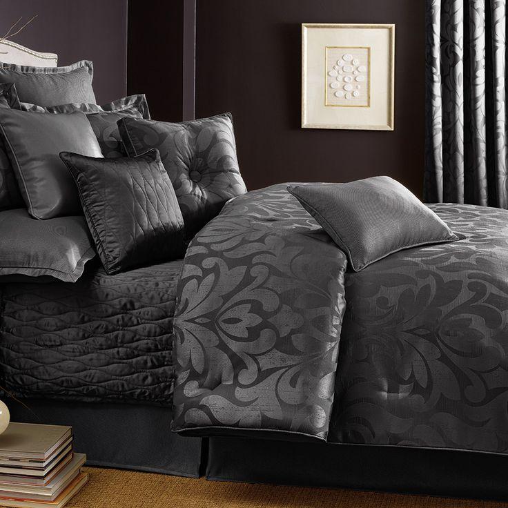 Candice olson sweet dreams platinum comforter set for Baltic linen maison 8 pc comforter set