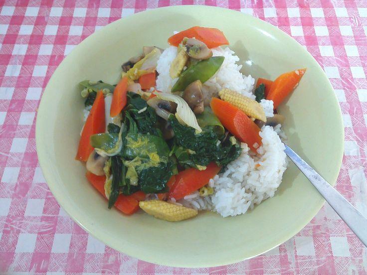 capcay TANPA tepung,MOre healthy More cheapy MORE delicious,cobain deh