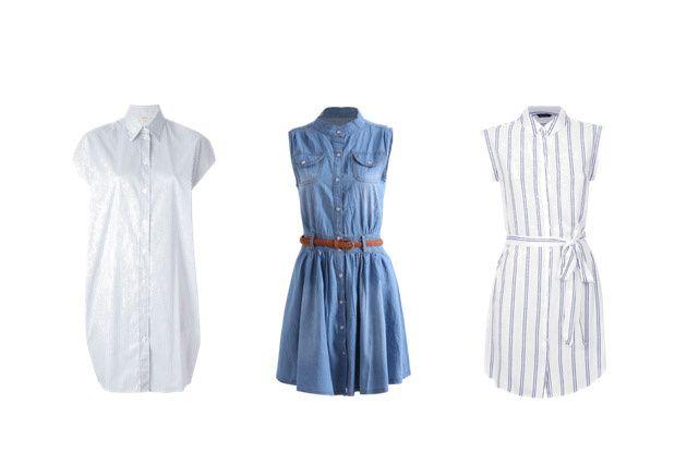 Las mejores formas de usar un vestido camisero