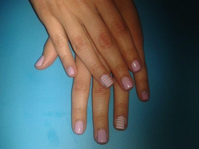 violet striped