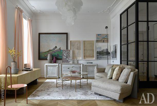 Квартира в Москве: жилое пространство для семьи из 3 человек, оформленное «Арт-бюро 1/1» | Admagazine | AD Magazine