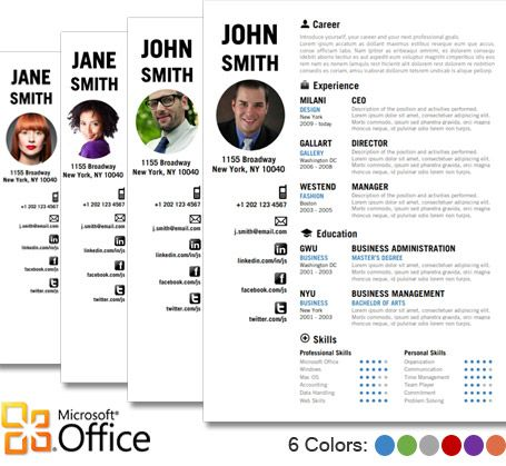 7 best Creative Resume Template images on Pinterest Resume - fashion designer resume samples