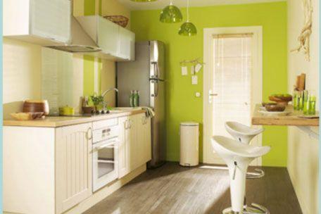 amenagement cuisine en lineaire petit espace