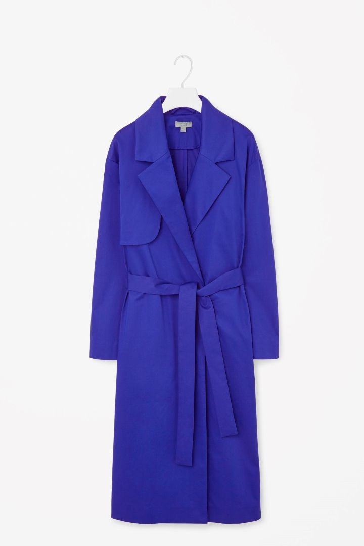 COS | Belted trench coat