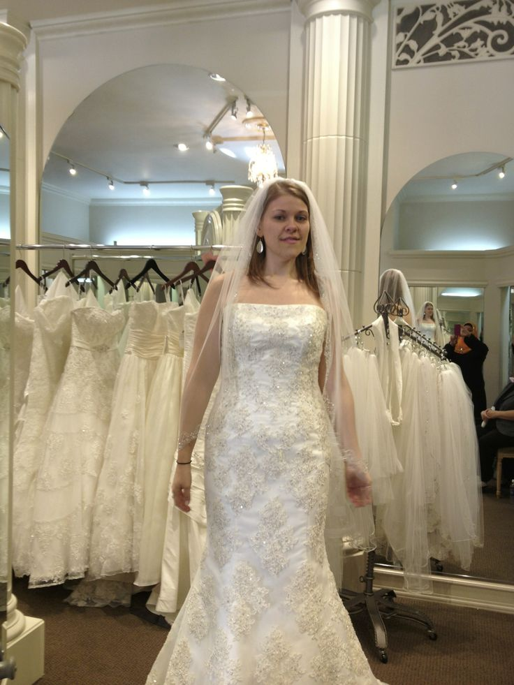 Don T Mind My Face I Didn Know Who Was Taking Pics Bought The Third Dress Ever Put On This Is Day Maggie Sottero Phillipa At Bridal