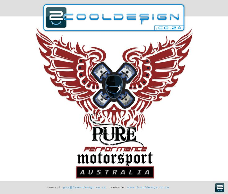 pure-performance-motorsport-australia-tshirt-design. Created by Guy Tasker