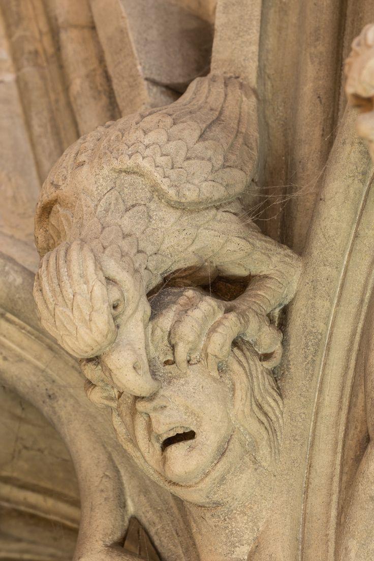 York Minster grotesques 约克大教堂