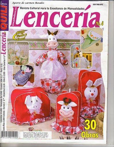 Blog de Santa clauss: Revista Lencería Hogar Navideño