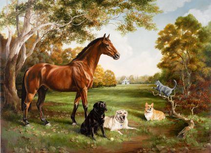 Jamie Corum, Equine Artist