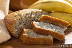Банановый хлеб. Без глютена