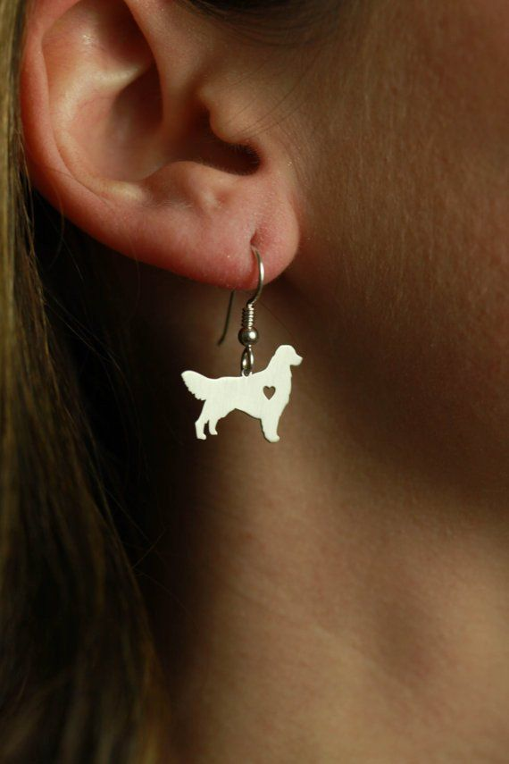 Wonderful Golden Retriever Earrings *Limited Supply*