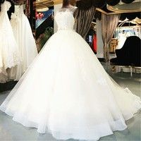Women's Wedding Dresses USA slim fit size available: US2, US4, US6, US8, US10, US12, US14, US16,US14