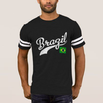 Brazil T-Shirt - retro clothing outfits vintage style custom