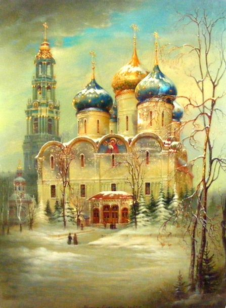russian Art work image | Hand Painted Lacquer Boxes from Russian Master Artists.
