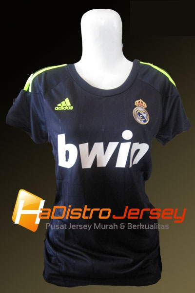 Toko Jersey Bola HADISTROJERSEY menyediakan READY STOK Jersey Grade Ori Jersey Ladies Real Madrid Away 2012-2013 $15 http://goo.gl/TN4UI