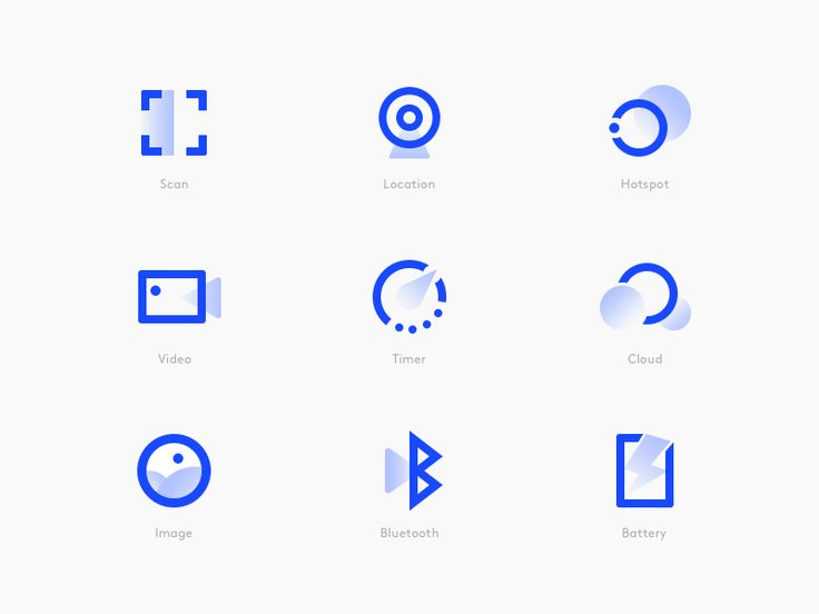 Icon Style Explore Exploring different style of ic…