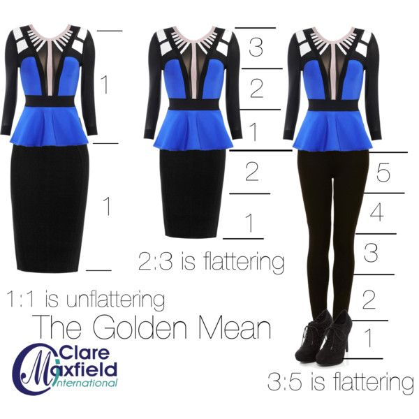 """The golden mean of proportion."" by claremaxfield on Polyvore"