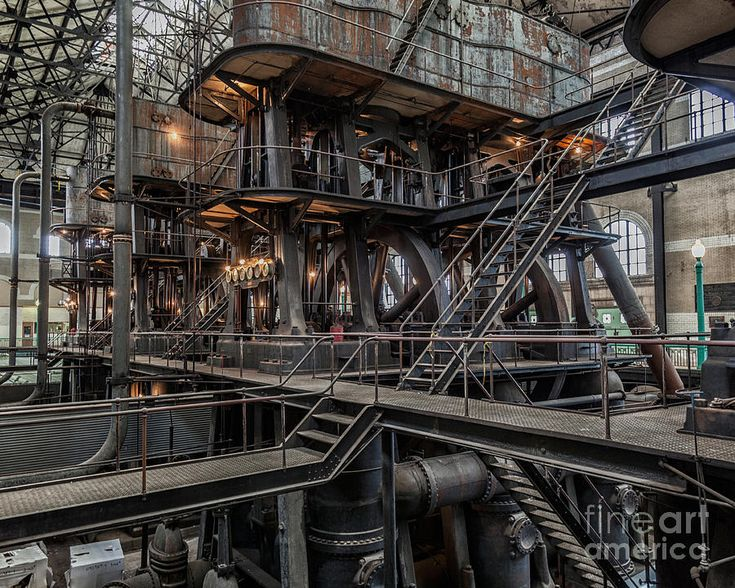 Industrial 3 Photograph—Industrial 3 Fine Art Print