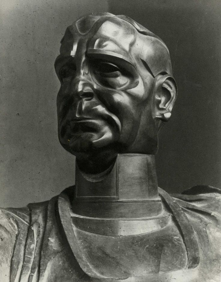 Bust of a man [searching for its title]