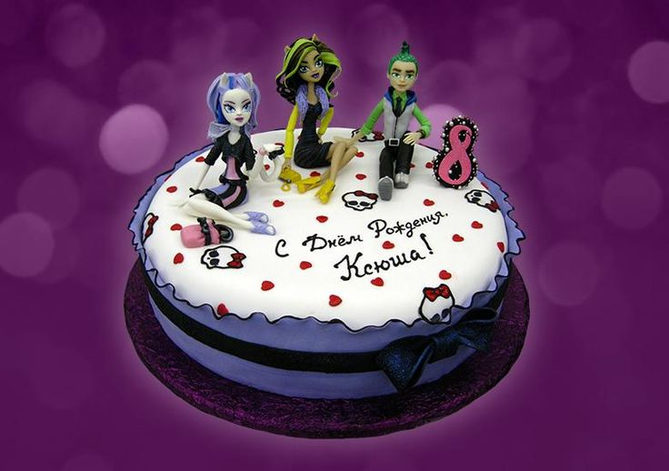 Коллекция искушений, Торт Монстр Хай, торт на 8 лет, торт дщевочке, детский торт, торты для детей, торт на день рождения #authorcake #детскийторт #тортдевочке #тортдлядетей #монстрхай #монстерхай #торт