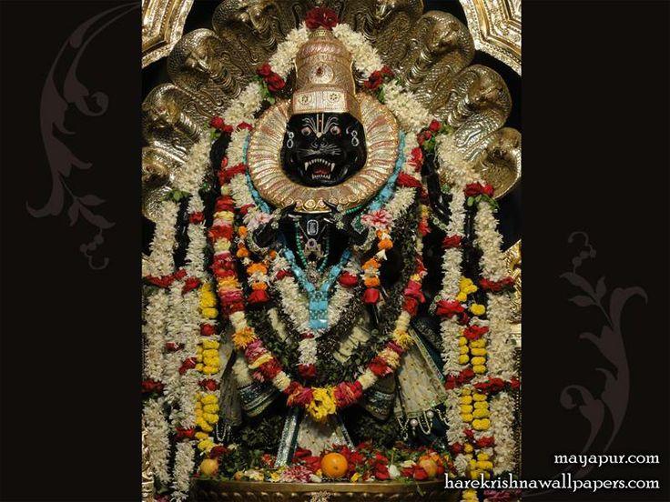 Sri Narasimha Deva Wallpaper  http://harekrishnawallpapers.com/sri-narasimha-deva-wallpaper-006/