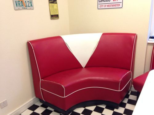 how to make an american diner booth