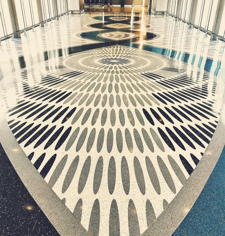 Terrazzo Floor Design at Phoenix Sky Harbor International Airport