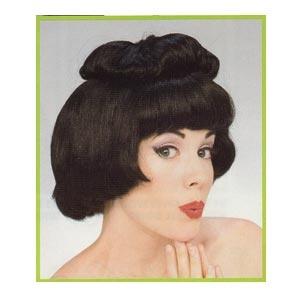 Geisha Wig (Black)