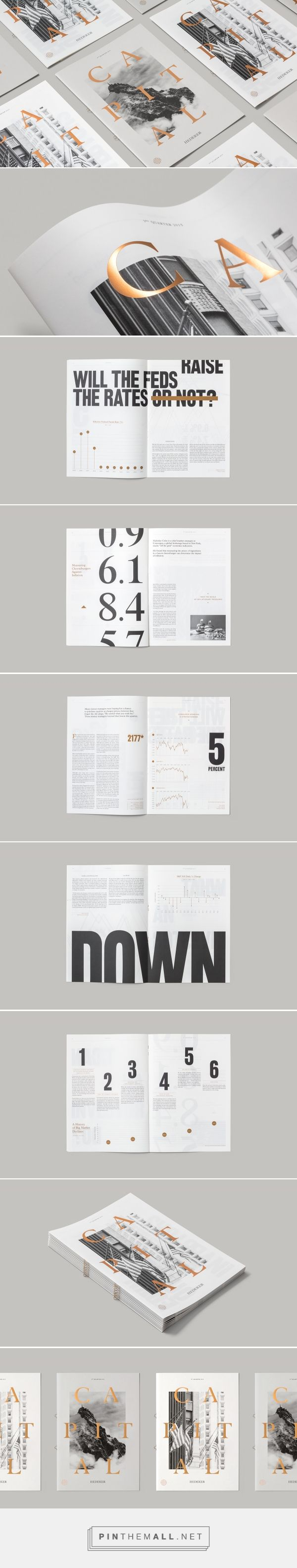 Capital Magazine on Behance - created via https://pinthemall.net