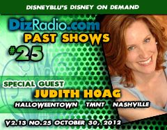 Show #25 with Special Guest JUDITH HOAG (Halloweentown Franchise, Teenage Mutant Ninja Turtles the movie, Nashville)