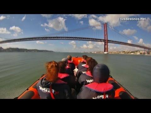 LISBOA, Portugal - Turismo por la costa, tour en lanchas rápidas / deportivas, excursión barco Via TusDestinos   31/10/2012