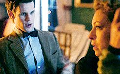 ksc Grayle: What's that? What's happening? {the TARDIS sounds outside} Is it an earthquake? What is this!?.//  River: Oh you bad boy. You could burn New York..//  Grayle: What does that mean?!.//  River: It means, Mr. Grayle, just you wait 'til my husband gets home..// Doctor: Sorry I'm late, honey. Traffic was hell.  ♥♥