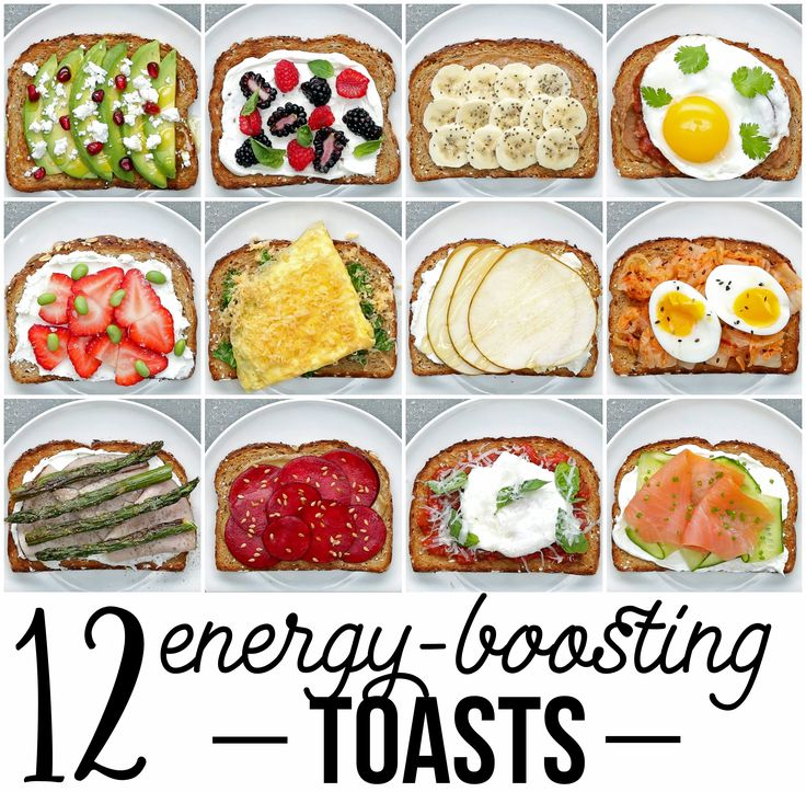 12 Energy-Boosting Toasts