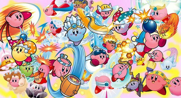 All Kirby Powers!! Kirby! Pinterest