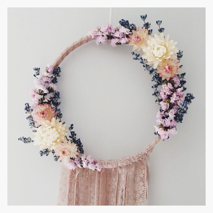Bohemian floral dreamcatcher // lace // rose // boho dream catcher // wall hanging by MeadowandMoss on Etsy https://www.etsy.com/listing/266693767/bohemian-floral-dreamcatcher-lace-rose #dreamcatcher