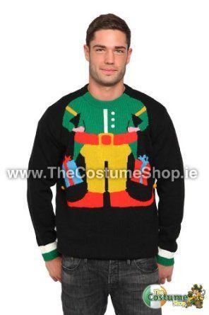 Elf Christmas Jumper: Amazon.co.uk: Clothing