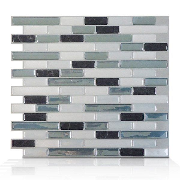 Shop Smart Tiles  SM1041 Muretto Brina Self Adhesive Wall Tile at Lowe's Canada. Find our selection of backsplashes & wall tile at the lowest price guaranteed with price match + 10% off.
