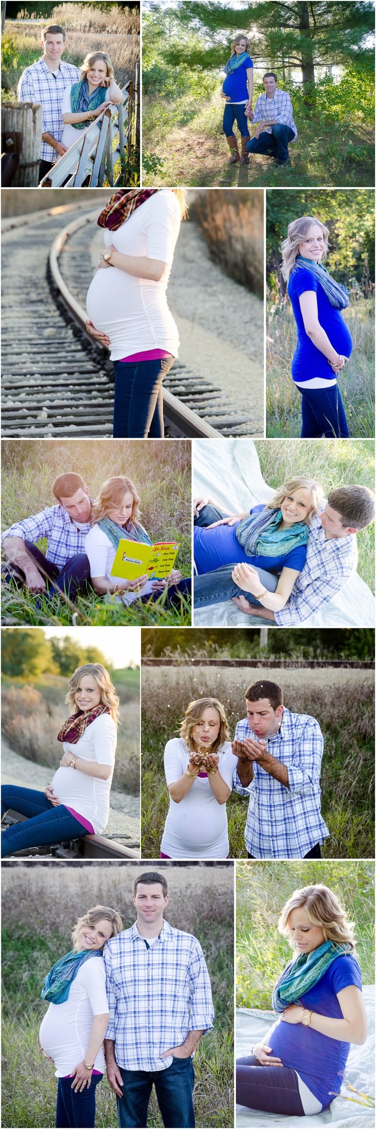 Maternity session by Chelsea Marie Photography, Northern Illinois