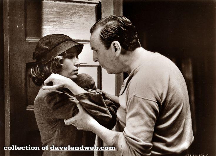 Mia Farrow en Danny Aiello in Purple rose of Caïro uit 1985.