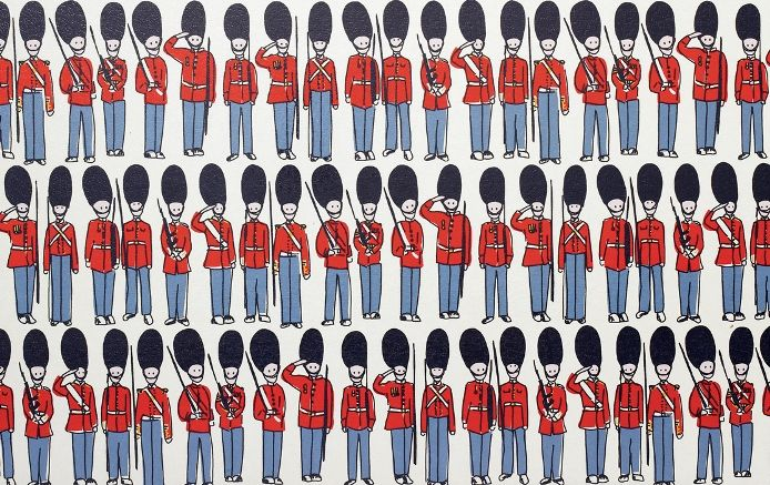 #9 All of our Guards skirts lined up would stretch the width of Buckingham Palace – ten times. #CathKidston #CK20yrs