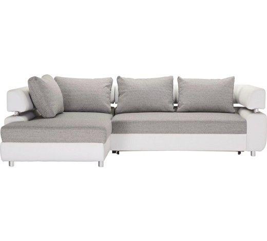 Sedací souprava v šedé a bílé: zamilujte se do pohodlí