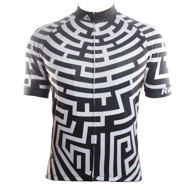 Maze Black Men's Cycling Jersey