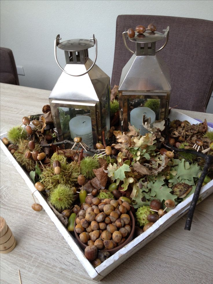 25 beste idee n over herfst lantaarn decoratie op for Decoratie herfst
