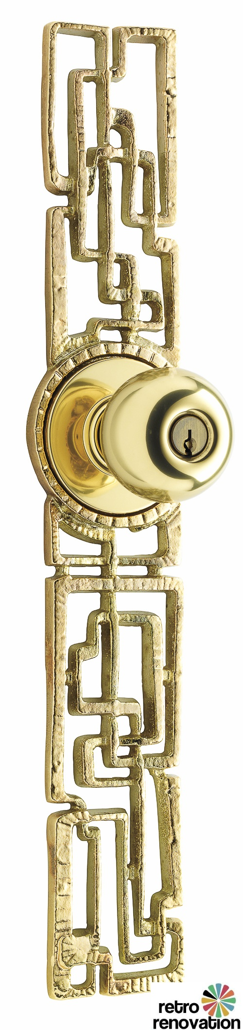 Rejuvenation Hardware Samba doorset escutcheon