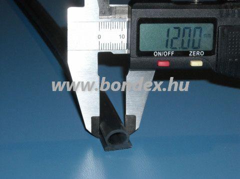 12 mm talp széles ragasztható nyílászáró tömítés