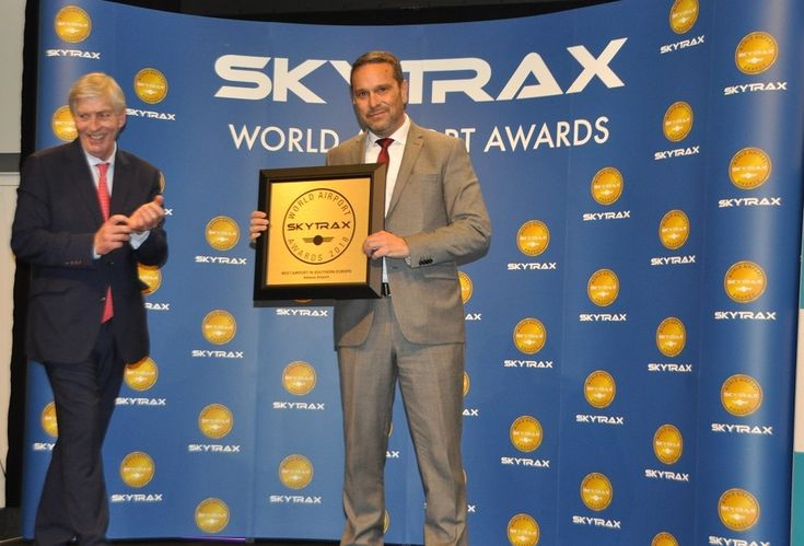 AIA Named 'Best Airport in Southern Europe' by Skytrax