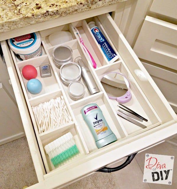 8 Brilliant Ways To Organize Bathroom Drawers Diy Drawer