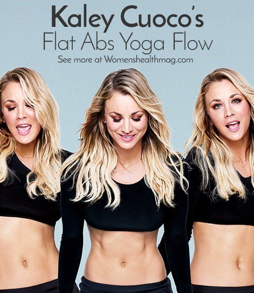 The 5 Yoga Moves That Helped Kaley Cuoco Get THOSE Abs  http://www.womenshealthmag.com/fitness/kaley-cuoco-flat-abs-yoga-flow?utm_source=facebook.com