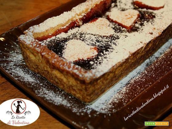 Crostata di marmellata di lamponi con Pie Crust  #ricette #food #recipes